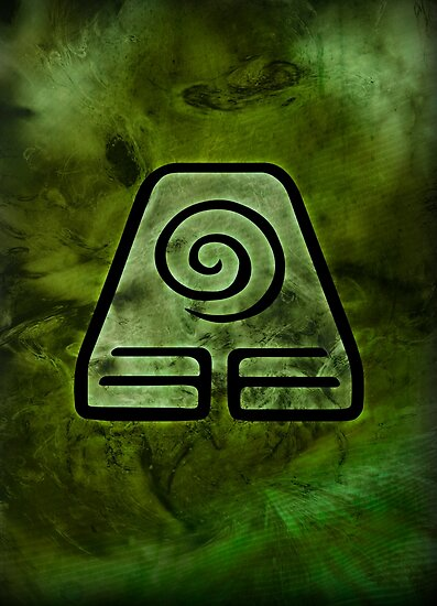 Avatar Symbol Earth Element Posters By Mcashe Redbubble
