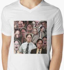 Dwight Schrute - Das Büro T-Shirt mit V-Ausschnitt für Männer