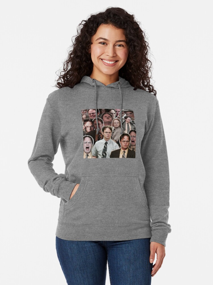 Alternate view of Dwight Schrute - The Office Lightweight Hoodie