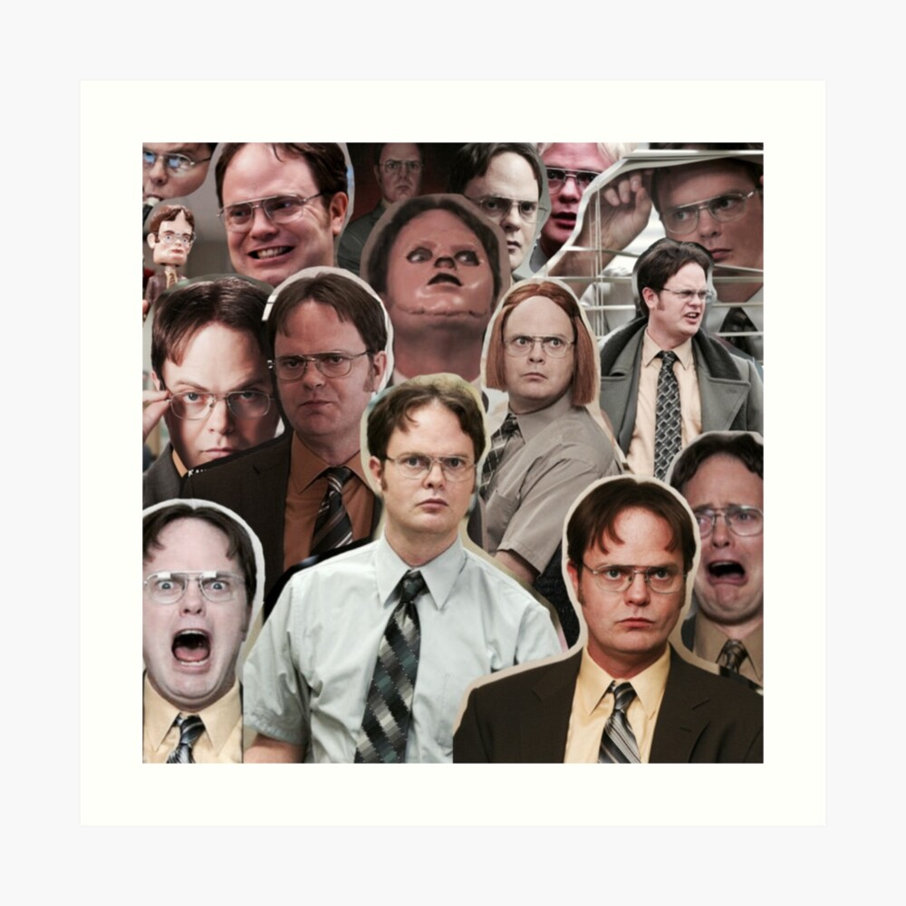 Dwight Schrute - The Office Art Print