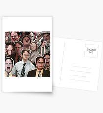 Dwight Schrute - Das Büro Postkarten