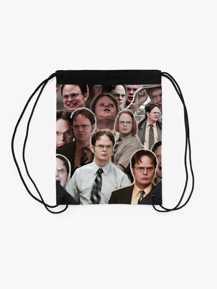 Alternate view of Dwight Schrute - The Office Drawstring Bag