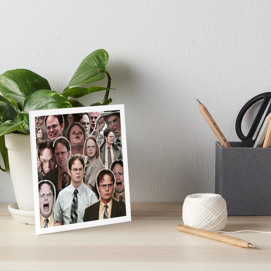 Dwight Schrute - La oficina Lámina rígida