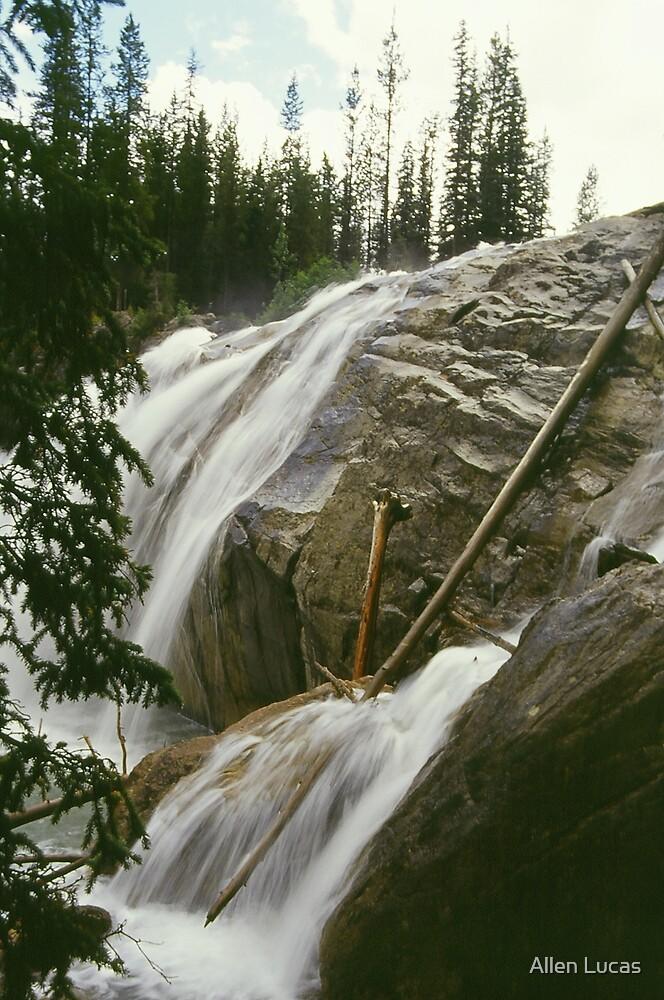 Clear Mountain Waterfall by Allen Lucas