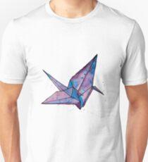 Origami paper crane  Unisex T-Shirt