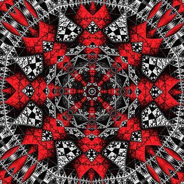 Majestic Sierpinski  by bettycruz