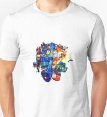 MegaMan 2 Art style T-Shirt
