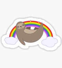 Rainbow sloth Sticker