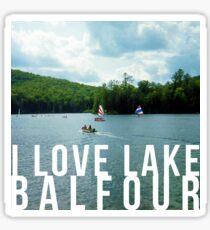 I love Lake Balfour Sticker