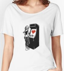 Retro Arcade Love Women's Relaxed Fit T-Shirt