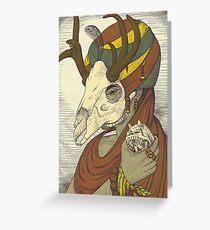 Demon Hunter Greeting Card