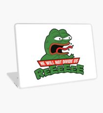 PEPE TMNT - He Will Not Divide Us Laptop Skin