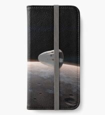 SpaceX Red Dragon Above Mars iPhone Wallet/Case/Skin