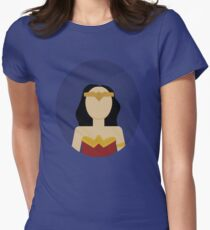 Diana Prince Women's Fitted T-Shirt