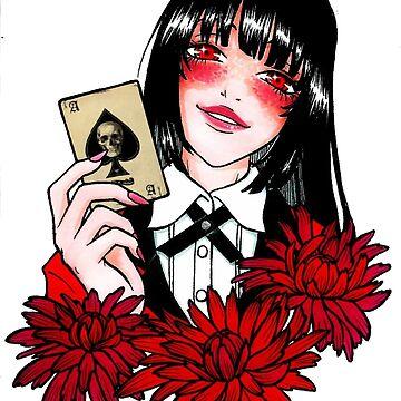 Jabami Yumeko - Gambler by ValentinasWorks