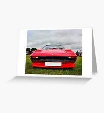 1985 Ferrari 288 GTO Greeting Card