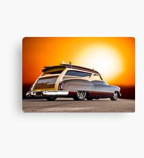1950 Buick Custom Woody Wagon III Canvas Print