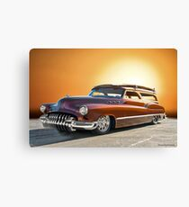 1950 Buick Custom Woody Wagon V Canvas Print