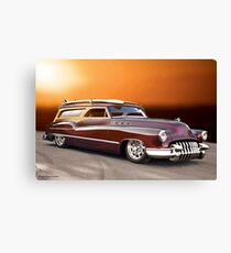 1950 Buick Custom Woody Wagon VI Canvas Print