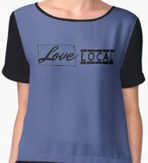 Love Local Kansas Chiffon Top