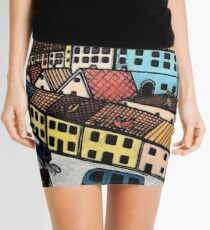 Travel Days Mini Skirt