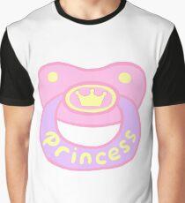 Princess Pacifier Graphic T-Shirt