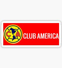 Club America Mexico Soccer Team Sticker