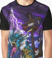 Gyrados Hunt  Graphic T-Shirt