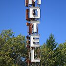 Route 66 - Pioneer Motel by Frank Romeo