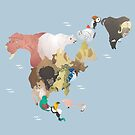 Beastly North America by rcatron