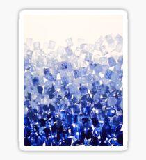 The Blues Blocks  Sticker