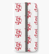 Red Monkey iPhone Wallet/Case/Skin