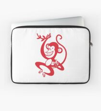 Red Monkey Laptop Sleeve