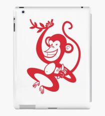 Red Monkey iPad Case/Skin