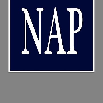 GAP NAP 2 by Noveltee-Shirts