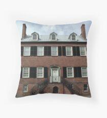 Davenport House Throw Pillow