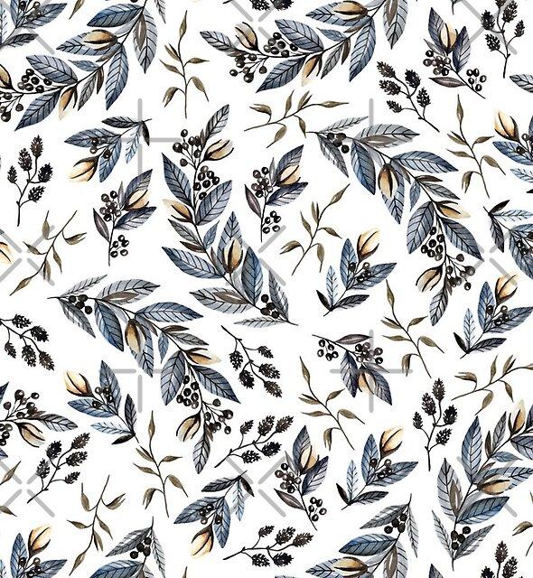Grey branches by JuliaBadeeva
