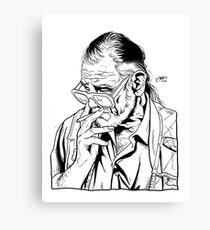 GEORGE ROMERO Canvas Print