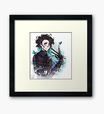 Edward Scissorhands ( Tim Burton) Framed Print