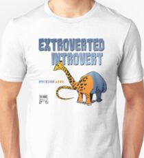 Extroverted Introvert Unisex T-Shirt