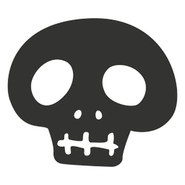 skull simple by Syphermorian