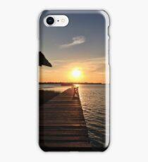 A Tiki Island Sunset iPhone Case/Skin