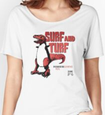 Surf and Turf Women's Relaxed Fit T-Shirt