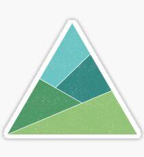 Triangle Mountains Sticker