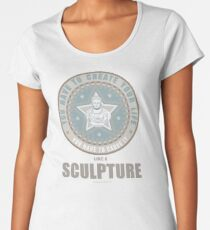 William Shatner / QUOTE / TSHIRT / SCULPTURE  Women's Premium T-Shirt