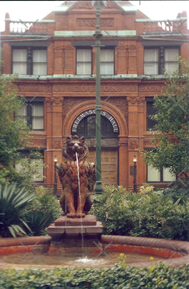 Savannah's Old Cotton Exchange by Sheila Simpson