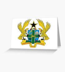 Ghana Coat of Arms Greeting Card