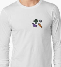 Happy Veggies Illustration T-Shirt