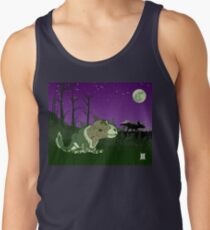 Moonlight Huntress Tank Top