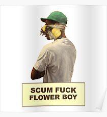 Tyler The Creator Flower Boy Album Box Logo Poster